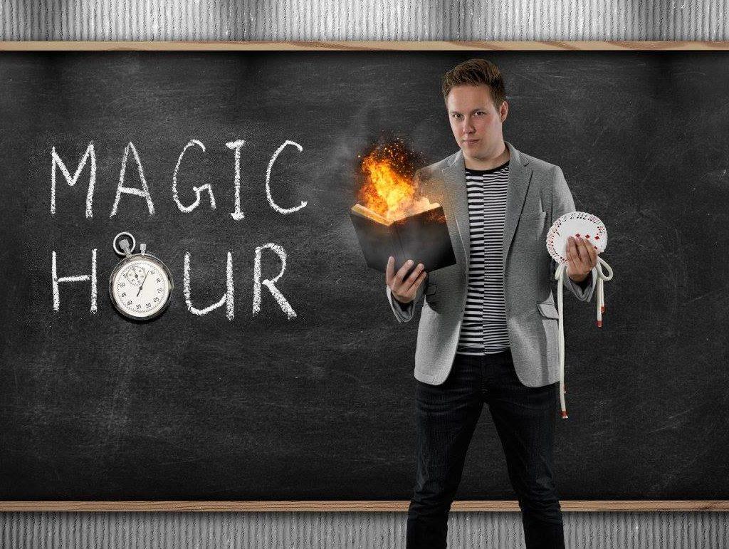 goochelaar boeken op school en voor scholen kindershow huren